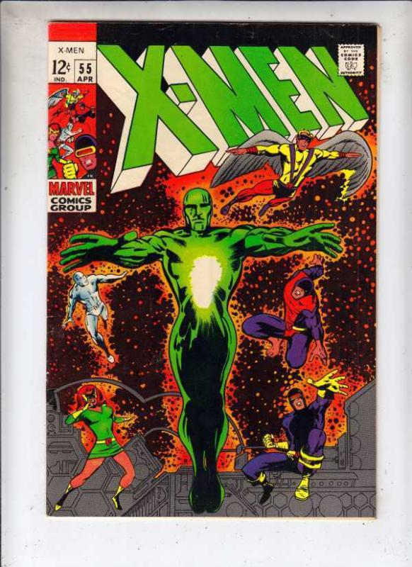 X-Men #55 The strict NM- 9.2 High-Grade   Appear -The  Living Pharaoh  100s more