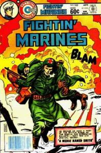 Fightin' Marines #162 FN; Charlton | save on shipping - details inside