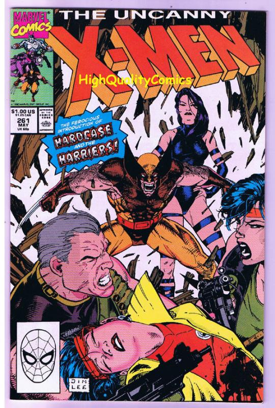 X-MEN #261, VF/NM, Wolverine, Jim Lee, Claremont, Uncanny, more in store