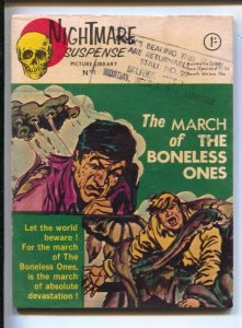 Nightmare Suspense Picture Library#1 1965-1st issue-Violent horror-March of ...