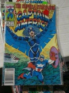 Captain America # 389 1991 marvel the superia stragagem pt 3