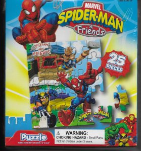Marvel Spider-Man & Friends 25 pc. puzzle (Thor, Wolverine)