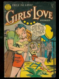 GIRLS LOVE STORIES #19 1952-ROMANCE-STAND IN FOR LOVE VG