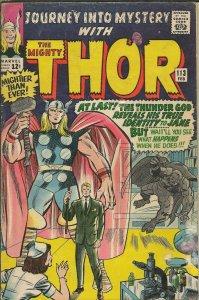 Journey Into Mystery #113 Thor Vintage 1965 Marvel Comics Origin of Loki