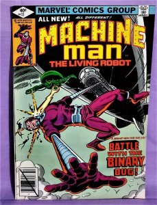 Marv Wolfman MACHINE MAN #11 Steve Ditko Bronze Age (Marvel, 1979)!
