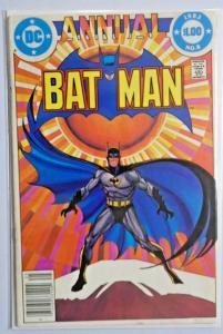 Batman Annual #8 - Newsstand - 5.0 (1982)
