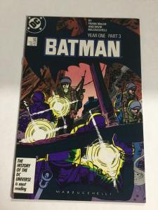 Batman 406 Nm Near Mint Year One Part 3 DC Comics