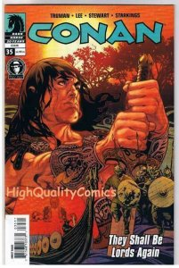 CONAN #35, NM+, Tim Truman, Shall be Lords Again, 2004, more in store