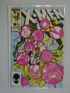 Uncanny X-Men #188 Direct edition 8.5 VF+ (1984 1st Series)
