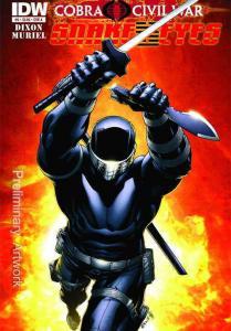 G.I. Joe: Snake Eyes (Vol. 2) #6A VF; IDW | save on shipping - details inside