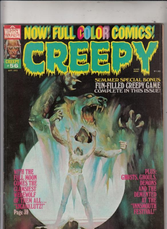 Creepy Magazine #56 (Sep-73) FN/VF Mid-High-Grade