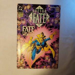 Doctor Fate 37 Fine/Very Fine Cover by Scot Eaton