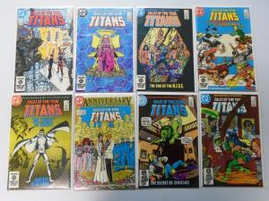 Tales of The Teen Titans Lot From:#41-59, 15 Different Average 8.0/VF (1984-85)
