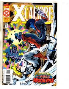 7 Marvel Comics X-Calibre 1 2 3 4 Clandestine 1 Ravage 99 11 Cosmic Powers 2 DB6