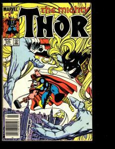 10 Thor Marvel Comics # 340 341 342 343 345 346 347 348 349 350 Spider-Man DS3
