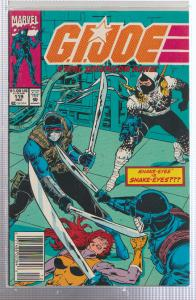 G.I. JOE A REAL AMERICAN HERO #119 SNAKE-EYES, BAGGED & BOARDED, MARVEL COMICS