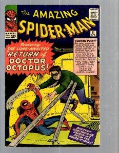Amazing Spider-Man # 11 VF- Marvel Comic Book Lizard Vulture Human Torch TJ1