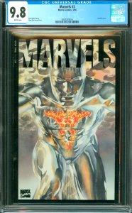Marvels #3 CGC 9.8