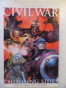 CIVIL WAR CHOOSING SIDES # 1