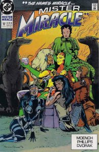 MISTER MIRACLE #17, VF/NM, Doug Moench, 1989 1990, more DC in store