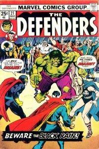 Defenders (1972 series) #21, VG+ (Stock photo)