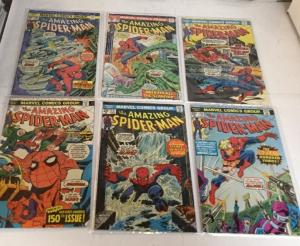 The Amazing Spider-Man 143-197 29 Book Lot Set Run See Description 6.0-8.0