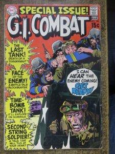 GI COMBAT 140 Good  DC,3/1970 COMICS BOOK