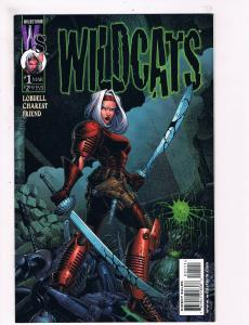 Wild Cats # 1 NM Wild Storm Comic Book Lobdell Charest Friend Series Issue S72