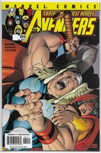 Avengers (vol. 3, 1998) #44/459 FN/VF (Kang War 4) Busiek/Layton, Black Widow