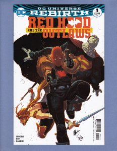 Red Hood and the Outlaws Rebirth #1 Variant Cover NM- DC 2016