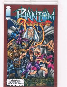 Phantom Force #1 FN/VF Image Comics Sealed With Card Comic Book Dec DE37 TW7