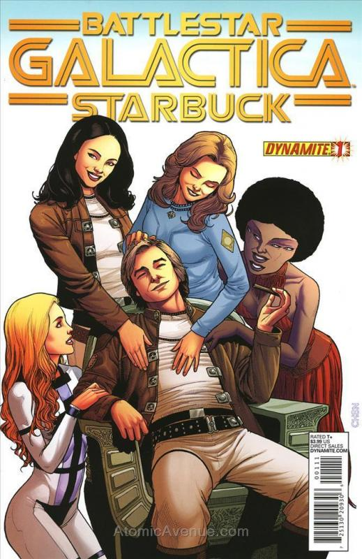 Battlestar Galactica: Starbuck (2nd Series) #1 VF/NM; Dynamite | save on shippin