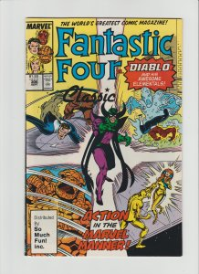 Fantastic Four #306 VG+ (1987, Marvel) Very RARE So Much Fun Variant!