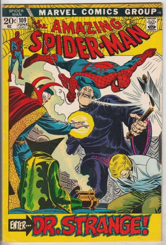 Amazing Spider-Man #109 (May-72) VF/NM+ High-Grade Spider-Man