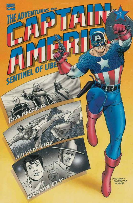 Adventures of Captain America #2 VF/NM; Marvel | save on shipping - details insi