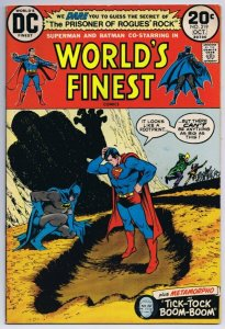 World's Finest #219 Superman Batman ORIGINAL Vintage 1973 DC Comics