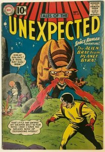 UNEXPECTED#65 VG/FN 1961 DC SILVER AGE COMICS
