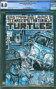 Teenage Mutant Ninja Turtles #3 (1985, Mirage) CGC 8.0