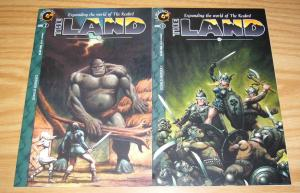 the Realm: the Land #1-2 VF/NM complete series - caliber comics - don marquez