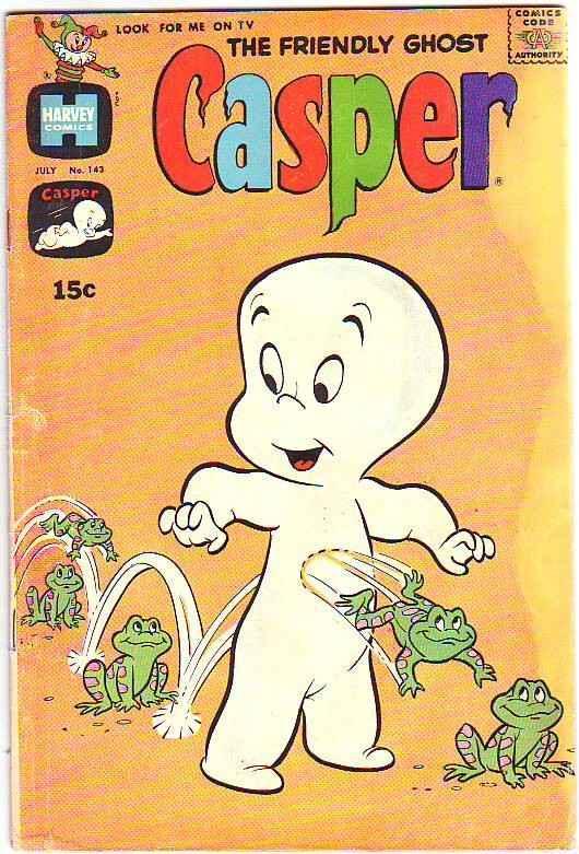 Casper, the Friendly Ghost Casper #143 (Jul-70) VG Affordable-Grade Casper, S...