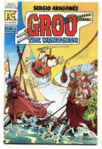 GROO #5-1983-comic book-ARAGONES VF/NM
