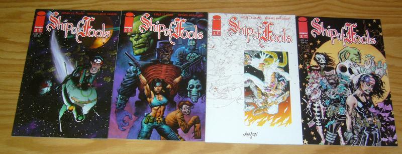 Ship of Fools vol. 2 #0 & 1-3 VF/NM complete series - michael avon oeming comics