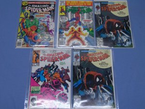 Five Marvel The Amazing Spider-Man (1963) Comic Books 158 208 253 308 Doc Ock +