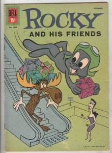 Four Color #1208 (Nov-61) FN+ Mid-High-Grade Rocket J Squirel, Bullwinkle Moose