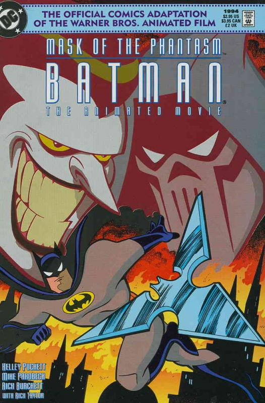 Batman: Mask of the Phantasm—The Animated Movie #1 VF/NM DC - save on shipping -
