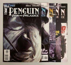 Penguin Pain and Prejudice #1-5 (DC 2011) 1 2 3 4 5 Gregh Hurwitz (8.5+)