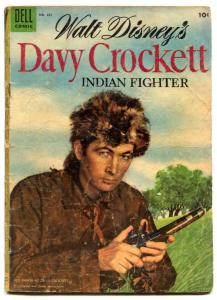 DAVY CROCKETT-Four Color Comics #631- incomplete