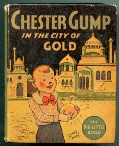 Chester Gump in the City of Gold Big Little Book #1146