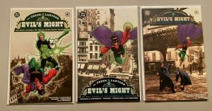 Green Lantern Evil's Might set from:#1-3 all 3 different 8.0 VF (2002)