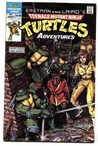TEENAGE MUTANT NINJA TURTLES ADVENTURES #1 comic book 1st KRANG